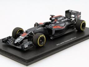 Jenson Button McLaren MP4-31 #22 Formel 1 2016 1:43 Spark