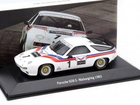 Porsche 928 S #1 Nürburgring 1983 1:43 Spark