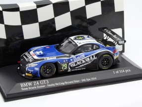 BMW Z4 GT3 #79 24h Spa 2014 Smith, McCaig, Bryant, Sims 1:43 Minichamps