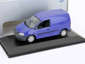 Volkswagen VW Caddy Baujahr 2005 blau 1:43 Minichamps