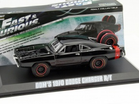 Dom's Dodge Charger R/T Offroad Movie Fast and Furious 7 2015 black 1:43 Greenlight