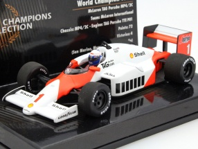 Alain Prost McLaren MP4/2C #1 World Champion formula 1 1986 1:43 Minichamps