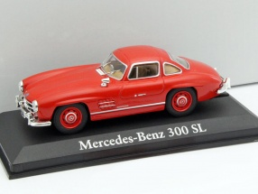 Mercedes-Benz 300 SL year 1954 red 1:43 Altaya