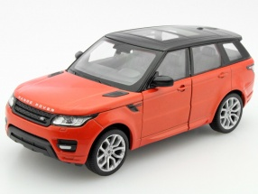 Range Rover Sport Year 2015 orange metallic / black 1:24 Welly