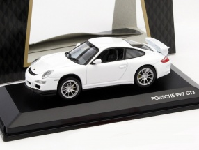 Porsche 911 (997) GT3 Year 2007 white 1:43 Lucky Diecast