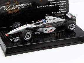 M. Häkkinen McLaren Mercedes MP4/14 #1 Weltmeister Formel 1 1999 1:43 Minichamps