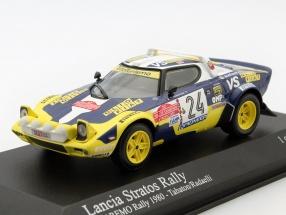 Lancia Stratos #24 Rally San Remo 1980 Tabaton, Radaelli 1:43 Minichamps