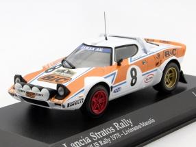 Lancia Stratos #8 Rally Akropolis 1978 Livieratos, Manolis 1:43 Minichamps