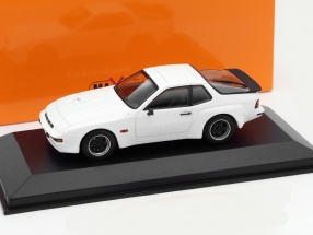 Porsche 924 GT Year 1981 white 1:43 Minichamps