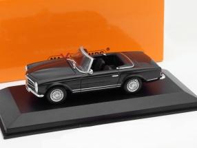 Mercedes-Benz 230 SL Year 1965 dark gray 1:43 Minichamps