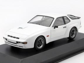 Porsche 924 GT Baujahr 1981 weiß 1:43 Minichamps