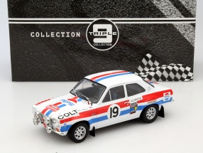 Ford Escort MK 1 RS 1600 #19 Rally Monte Carlo 1972 Makinen, Liddon 1:18 Triple9