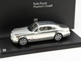 Rolls Royce Phantom Coupe silver / chrome 1:43 Kyosho