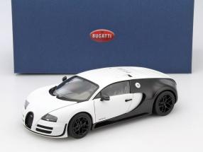 Bugatti Veyron 16.4 Super Sport Baujahr 2012 matt weiß / carbon schwarz 1:18 AUTOart