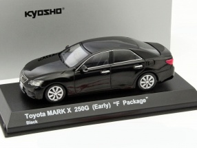 Toyota Mark X 250G (Early) F-Package black 1:43 Kyosho