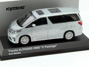 Toyota Alphard 350S (Early) C-Package gray metallic 1:43 Kyosho