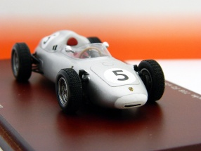 Porsche 718 Formel 2 #5 H. Herrmann 2nd Solitude GP 1960 1:43 True Scale