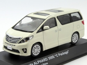 Toyota Alphard 350S (Early) C-Package pearl gold 1:43 Kyosho