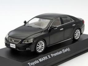 Toyota Mark X Premium (Early) black 1:43 Kyosho