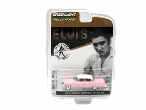 Cadillac Fleetwood Series 60 Elvis Presley Year 1955 pink 1:64 Greenlight