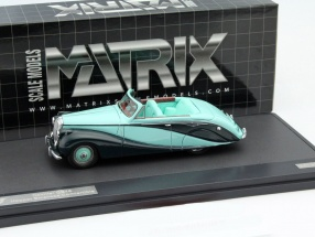 Daimler DB18 Hooper Empress Baujahr 1951 mint grün 1:43 Matrix