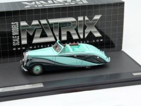 Daimler DB18 Hooper Empress Year 1951 mint green 1:43 Matrix