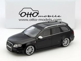 Audi RS4 B7 Avant Baujahr 2006 schwarz 1:18 OttOmobile