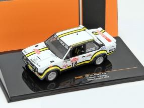 Fiat 131 Abarth #18 Rally San Remo 1978 Pasetti, Barban 1:43 Ixo