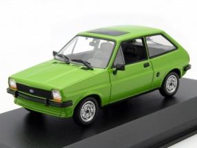 Ford Fiesta Baujahr 1976 hellgrün 1:43 Minichamps