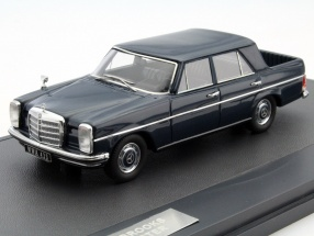 Mercedes-Benz Binz W115 Pick Up Double Cabin Year 1930 dark blue 1:43 Matrix