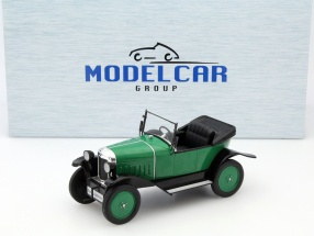Opel 4 PS Laubfrosch RHD green 1:18 Model Car Group