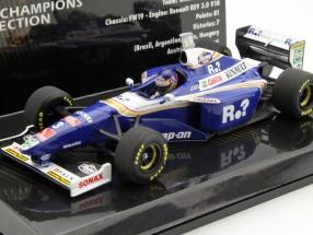 Jacques Villeneuve Williams FW19 #3 Weltmeister Formel 1 1997 1:43 Minichamps