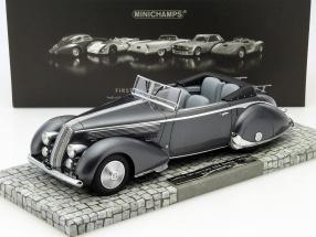 Lancia Astura Tipo 233 Corto Baujahr 1936 grau metallic 1:18 Minichamps