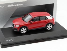 Audi Q2 tango rot 1:43 iScale