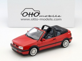 Volkswagen VW Golf 3 Cabriolet Sport Edition rot 1:18 OttOmobile