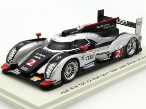 Audi R18 TDI #2 Winner 24h LeMans 2011 1:43 Spark