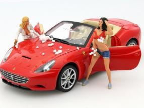Car Wash Girl Karin figure 1:18 FigurenManufaktur