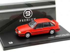 Volvo 440 Turbo Baujahr 1988 rot 1:43 Triple9