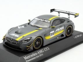 Mercedes-Benz AMG GT3 Presentation Car IAA Frankfurt 2015 1:43 Minichamps