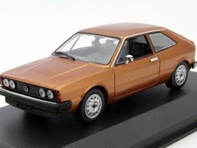 Volkswagen VW Scirocco Year 1974 brown metallic 1:43 Minichamps
