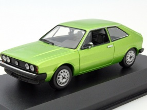 Volkswagen VW Scirocco Year 1974 green metallic 1:43 Minichamps