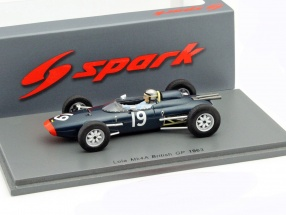 Chris Amon Lola Mk4A #19 Great Britain GP formula 1 1963 1:43 Spark