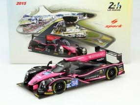 Ligier JSP2 #34 24h LeMans 2015 Cumming, Estre, Vanthoor 1:18 Spark