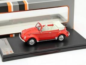 Volkswagen VW Käfer Cabriolet Year 1973 red 1:43 PremiumX