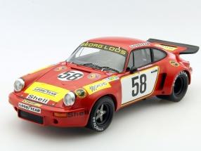 Porsche 911 Carrera RSR #58 24h LeMans 1975 Gelo Racing Team 1:18 Spark