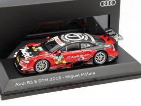 Miguel Molina Audi RS5 #17 DTM 2016 Audi Sport Team Abt 1:43 Spark
