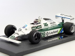 Carlos Reutemann Williams Ford FW07B #28 Formel 1 1980 1:18 Minichamps