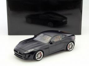Jaguar F-Type R Coupe Baujahr 2015 matt schwarz 1:18 AUTOart