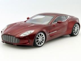 Aston Martin One-77 Baujahr 2009 diavolo rot 1:18 AUTOart