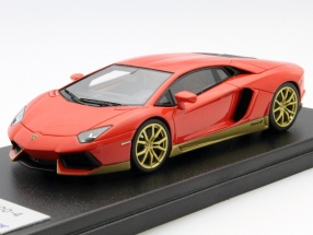 Lamborghini Aventador LP700-4 Miura Homage rot 1:43 LookSmart